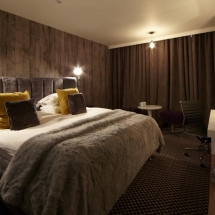 hotel room textiles